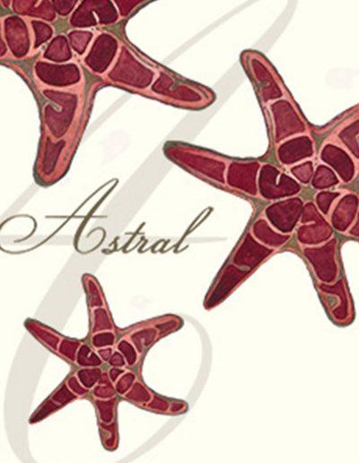 Astral Wine Label