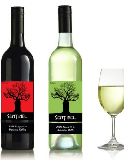 Sentinel Wine Labels